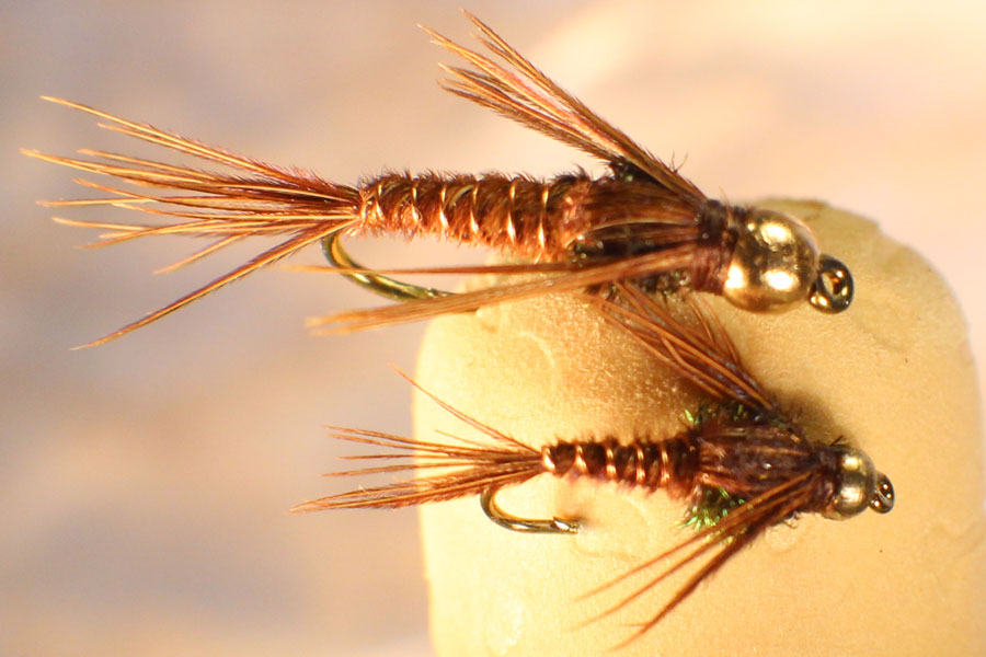Mayfly nymph imitations